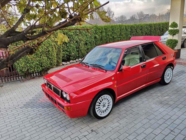 Lancia Delta Integrale EVO II – Rosso Monza – Beige Alcantara