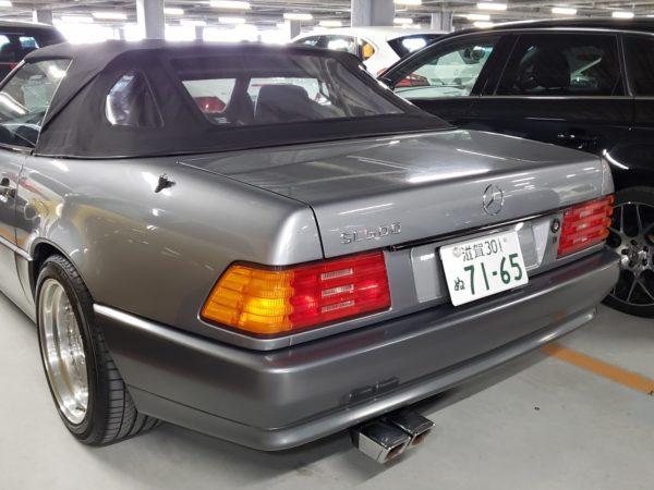 Mercedes-Benz R129 500SL – 42,000 km – Pearl grey