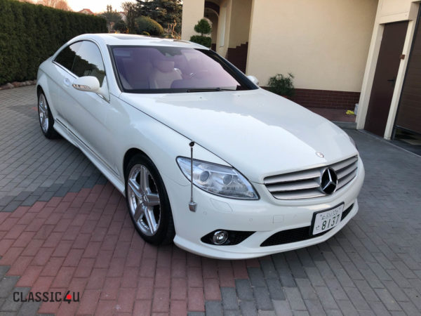 Mercedes-Benz CL 550 – Designio